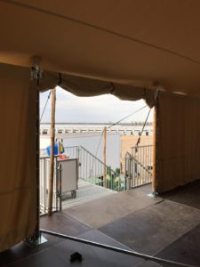 stretch tent design